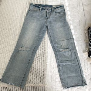 Treasure and Bond Wide Leg Cropped Jeans